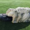 Abris rocher robot tondeuse
