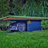 S Underground robot mower shelter