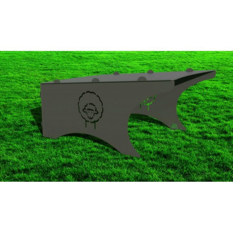Robotic lawnmower shelter Compact Mat Sheep