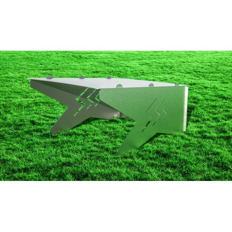 Robotic lawnmower shelter Compact Brilliant Lightning