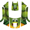 Stickers turtle mower robot