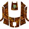 Stickers autumn robot mower